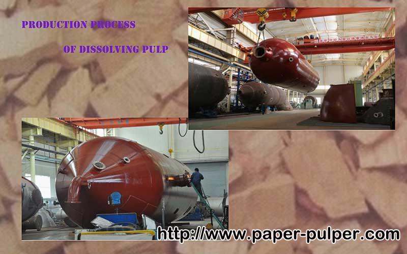 Dissolving Pulp Digester