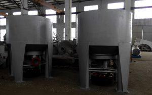 vertical hydraulic pulper in factory